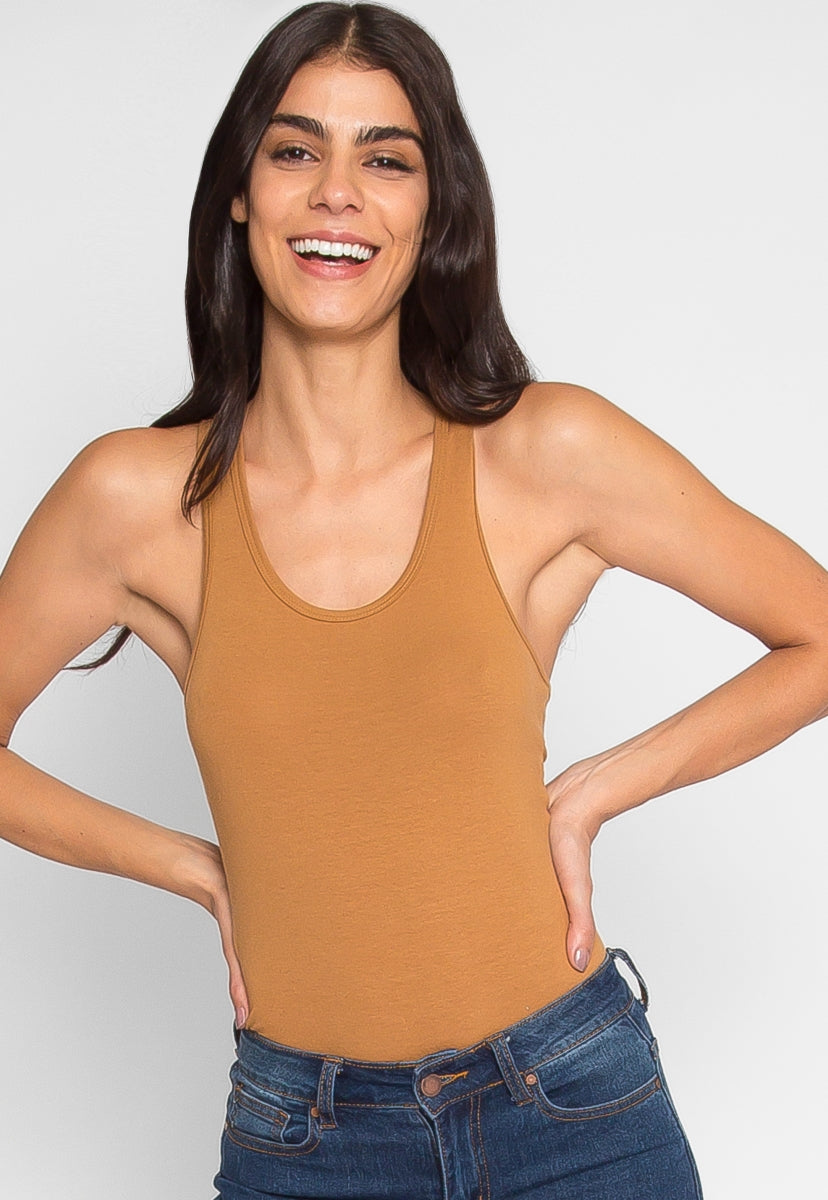 Hermosa Bodysuit in Coffee - Bodysuits - Wetseal