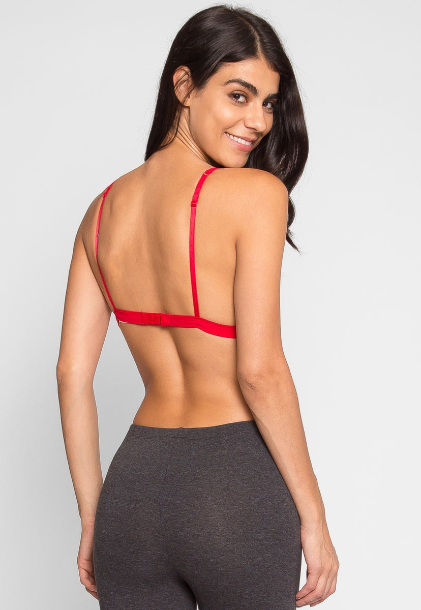 In Love Lace Bralette in Red - Intimates & Lingerie - Wetseal