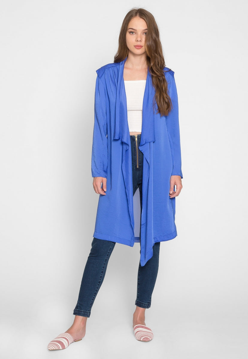 Ocean Wave Lightweight Jacket - Jackets & Coats - Wetseal