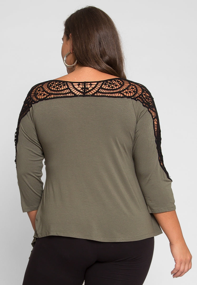 Plus Size Give Me Love Top - Plus Tops - Wetseal