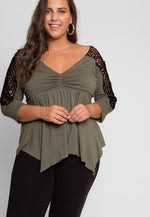 Plus Size Give Me Love Top