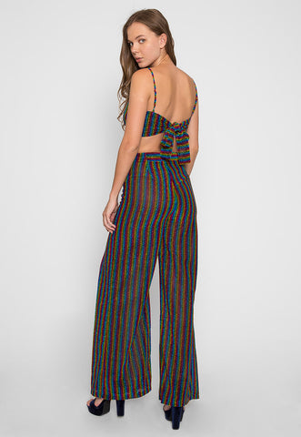 Rainbows & Glitter Two Piece Pants Set