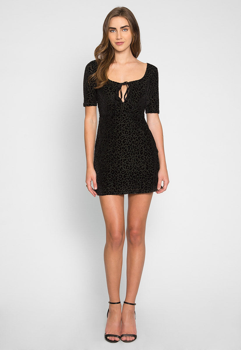 Wild Ones Leopard Dress - Dresses - Wetseal