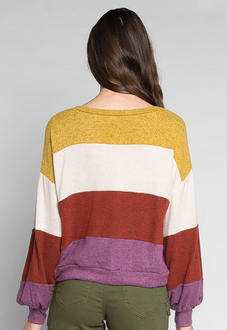 So Over You Heathered Knit Sweater