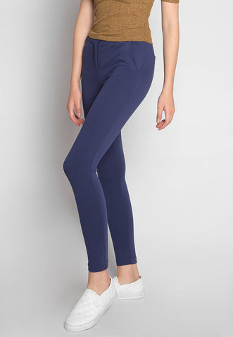 Best Friends Skinny Pants in Navy