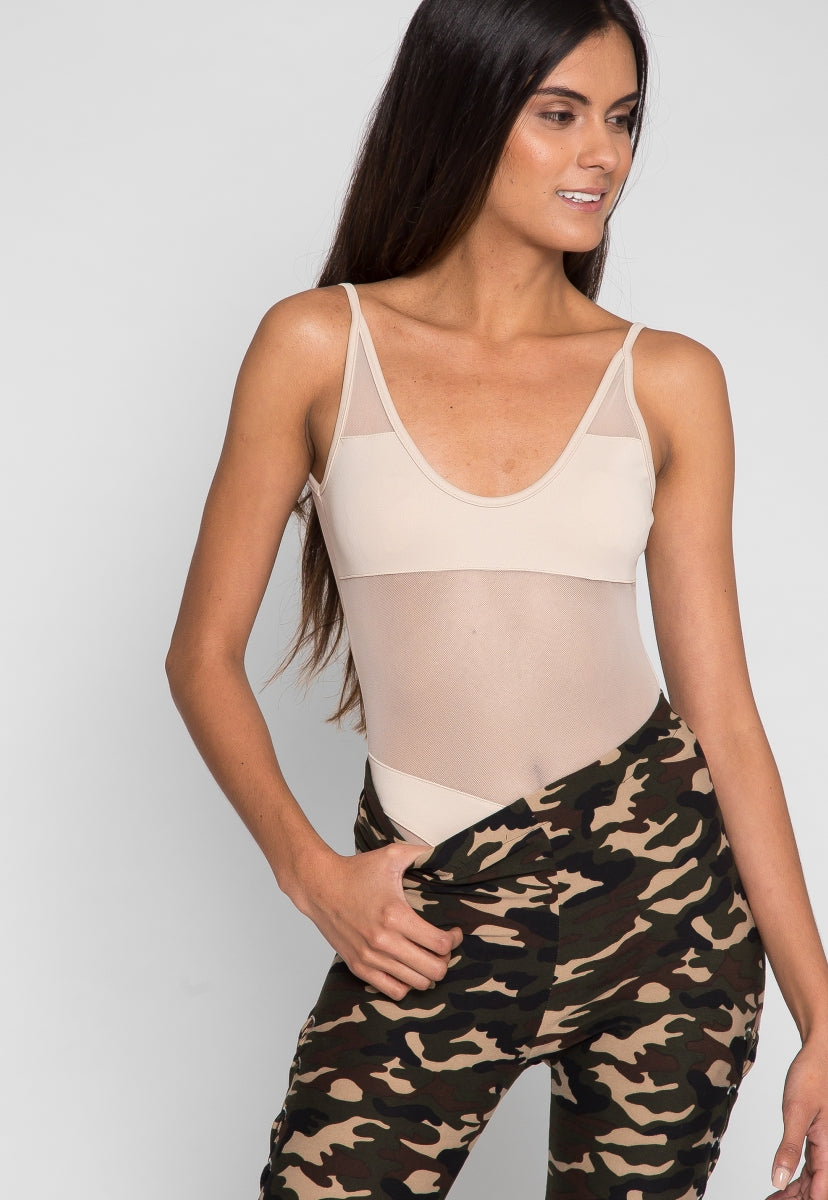 A Mirage Side Lace Up Camo Leggings - Pants - Wetseal