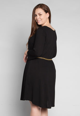 Plus Size Vancouver Dress in Black