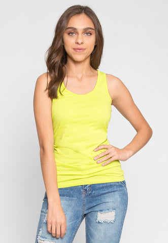Retrograde Tank Top in Lime