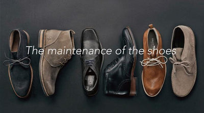 Some maintenance on shoe care