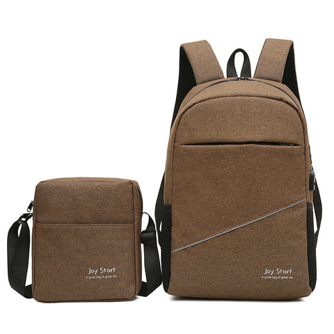 New Simple Leisure Travel Multifunctional Backpack Laptop Bag School Bag