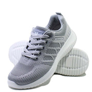 New double net flying weaving trend fashion lightweight spring and autumn sports shoes casual couple shoes