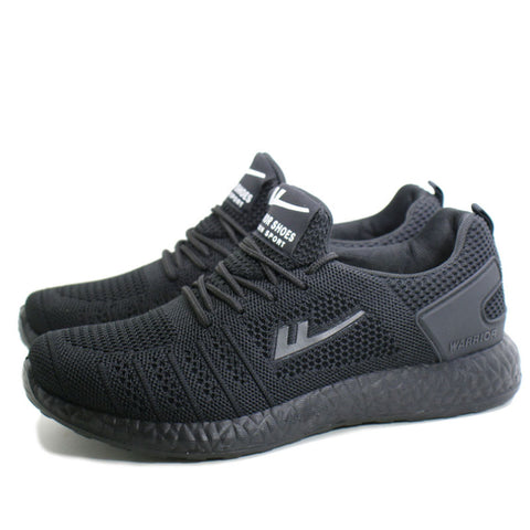 Fashion all black wild low-top casual men and women sneakers