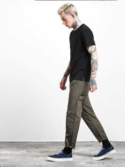 Pocket stitching men's nine pants casual pants overalls