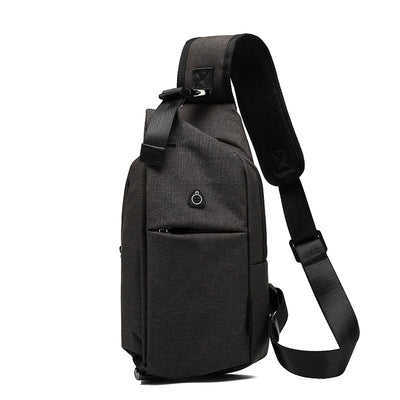Multifunctional Shoulder Messenger Bag Men's Chest Bag