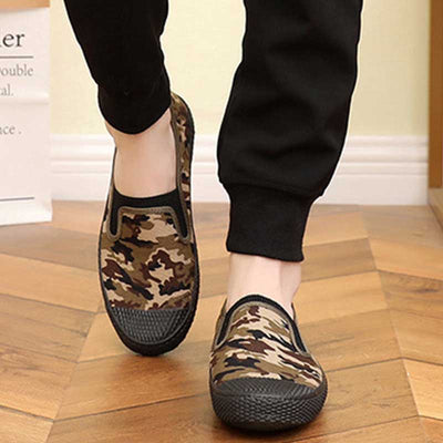 Camouflage casual shoes