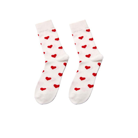 2019 autumn and winter cartoon color funny cotton socks series 2