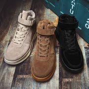 New autumn mid to helps sports casual men's shoes new men's boots leather boots England retro Martin boots