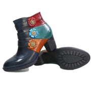 New women's side zip with Martin boots