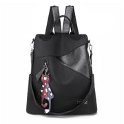 2020 New Casual Pure Color Soft Face Women's Backpack