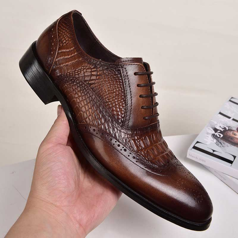 Men's Brock Business Dress Shoes England Shoes