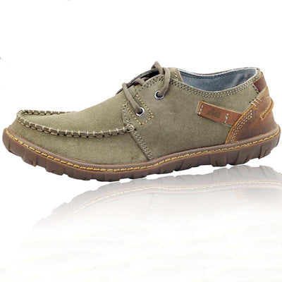 Men's leather outdoor skid shoes