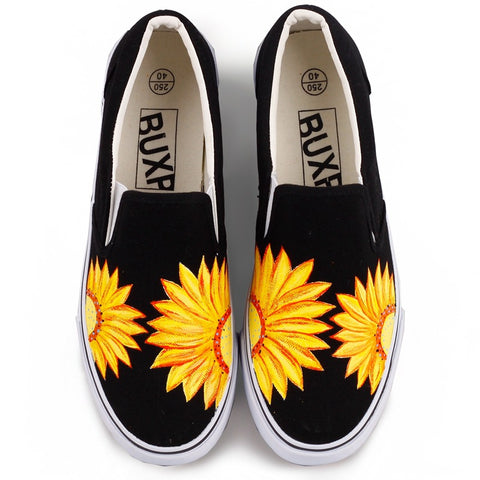 Hand-painted Comfortable casual shoes
