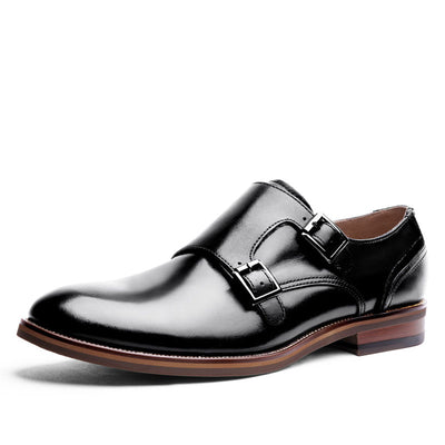 2020 new leather high-end Mengke head layer cowhide men's leather shoes