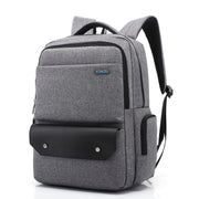 Business casual large capacity backpack outdoor travel backpack fashion student bag waterproof computer backpack