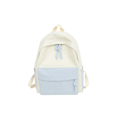 2020 new literary soft face women's backpack