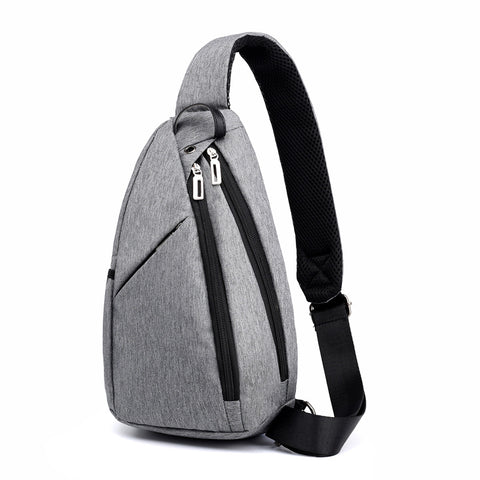 2020 new large capacity chest bag men's high-end shoulder bag