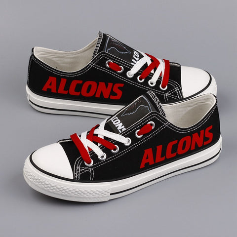 Colorful personality casual comfortable canvas shoes