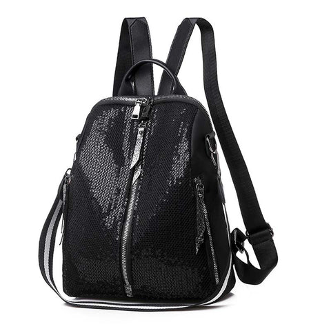 2020 new sequined Oxford Korean women's backpack