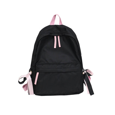 2020 new solid color fashion sports women's backpack