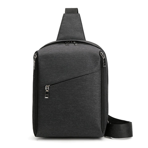 New men's shoulder bag leisure outdoor sports cross-body bag multifunctional pneumothorax bag