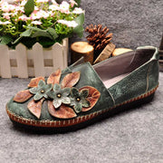 Flower Vintage casual loafers