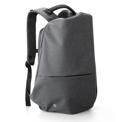 The new vertical pull leisure trend backpack schoolbag usb rechargeable computer bag