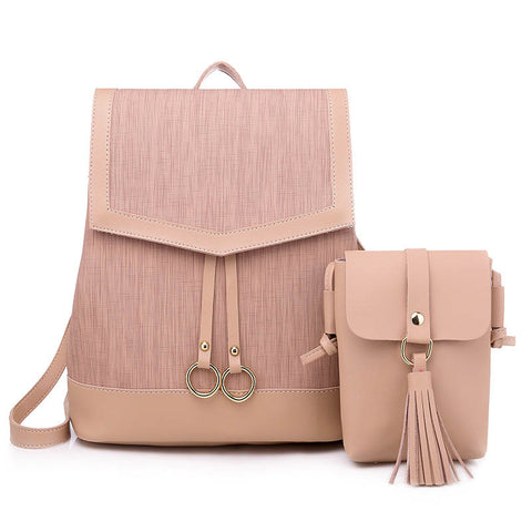 2020 New Fashion College Style Women's Backpack
