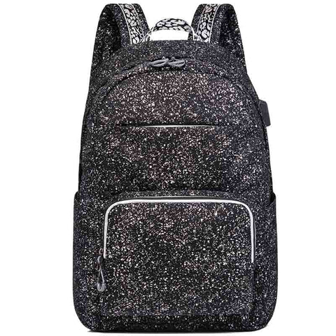 New Korean Backpack Men's USB Anti-theft Backpack Travel Leisure Computer Student School Bag