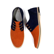 Suede casual men's shoes