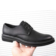 2019 autumn Brock shoes breathable business dress men's leather shoes