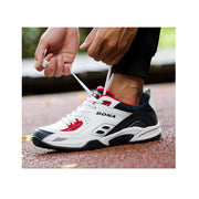 2020 autumn and winter leather casual shoes men's running shoes sports shoes