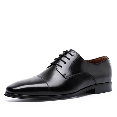 2020 new leather business trend hot sale men's leather shoes