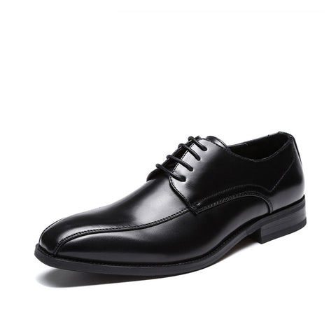 New leather shoes men's gentleman dress men's leather shoes business casual shoes office men's shoes