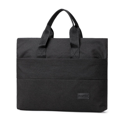 New Soft Surface Pure Color Computer Briefcase Laptop Bag