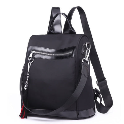 2020 new European and American fashion popular nylon women's backpack