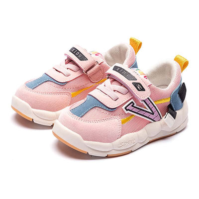 Baby toddler shoes 2019 autumn and winter new tide light non-slip plus velvet sneakers