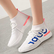 Summer breathable stretch sports casual shoes lightweight lazy shoes