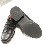 British style leather brock retro oxford shoes