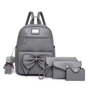2020 new wild fashion casual bow bag ladies backpack