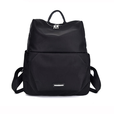 2020 new casual soft face solid color women's backpack
